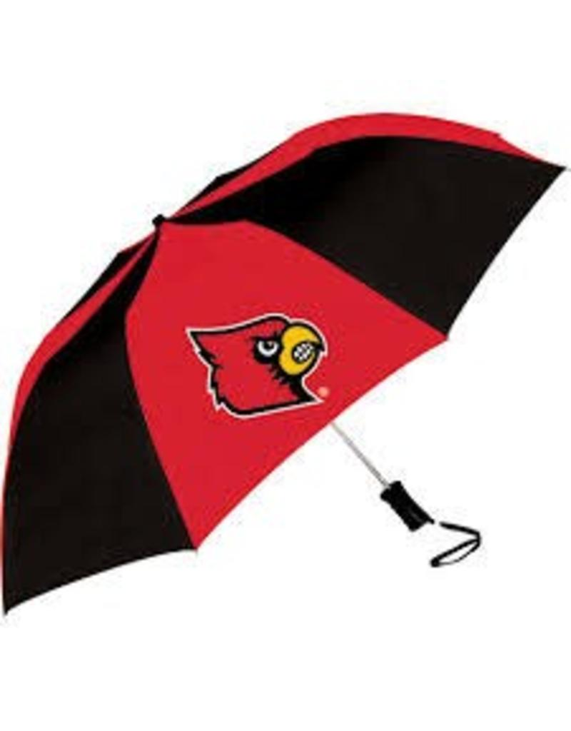 UMBRELLA, RED/BLACK, 42 IN, UL