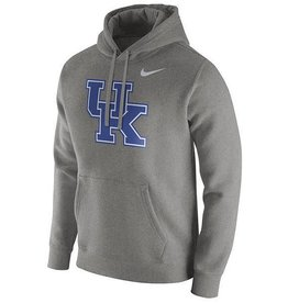 Nike Team Sports HOODY, NIKE, FLEECE, CLASSIC, GRAY, UK