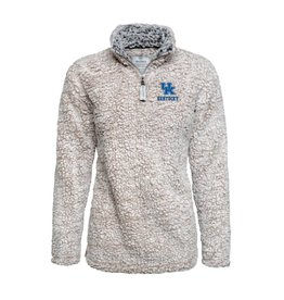 PULLOVER, LADIES, 1/4 ZIP, SHERPA, UK