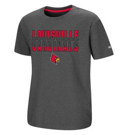 Colosseum Athletics TEE, YOUTH, SS, JUNIOR, CHARCOAL, UL