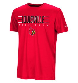 Colosseum Athletics TEE, YOUTH, SS, ANYTIME, RED,  UL