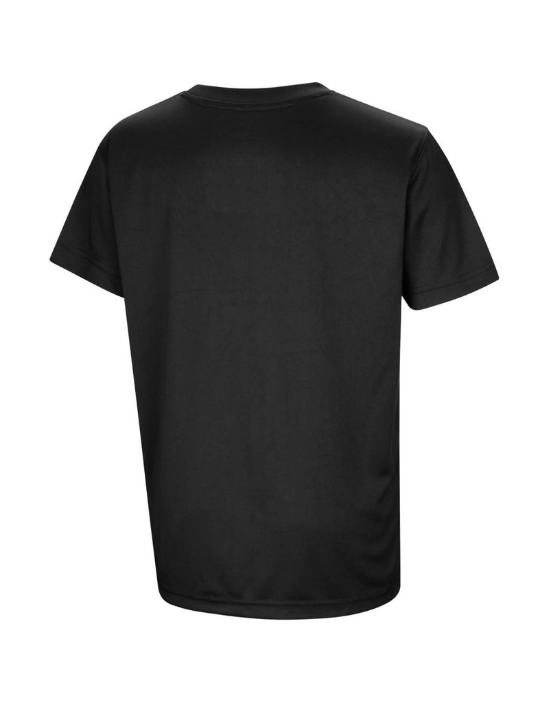 Colosseum Athletics TEE, YOUTH, SS, ANYTIME, BLACK,  UL