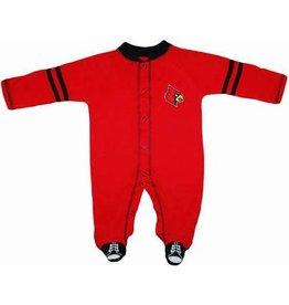 Creative Knitwear SLEEPER, INFANT, SHOE, RED/BLK, UL