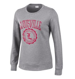 Champion Products CREW, LADIES, UNIVERSITY, GRAY, UL