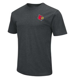 Colosseum Athletics TEE, SS, LOCATOR, CHARCOAL, UL