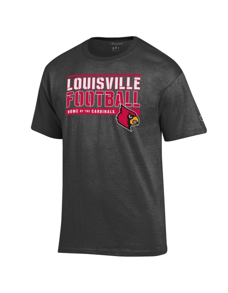 Champion Products TEE, SS, FOOTBALL, HOME OF, GRANITE, UL