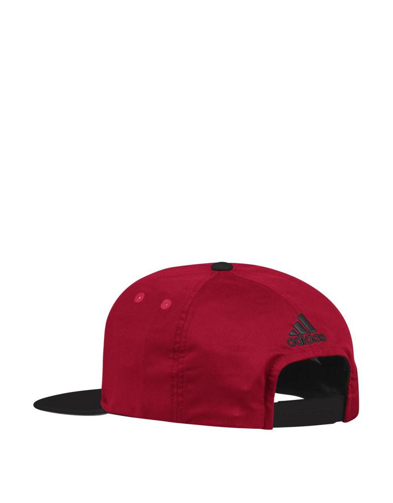 Adidas Sports Licensed HAT, SNAPBACK, ADIDAS, RED/BLACK, UL