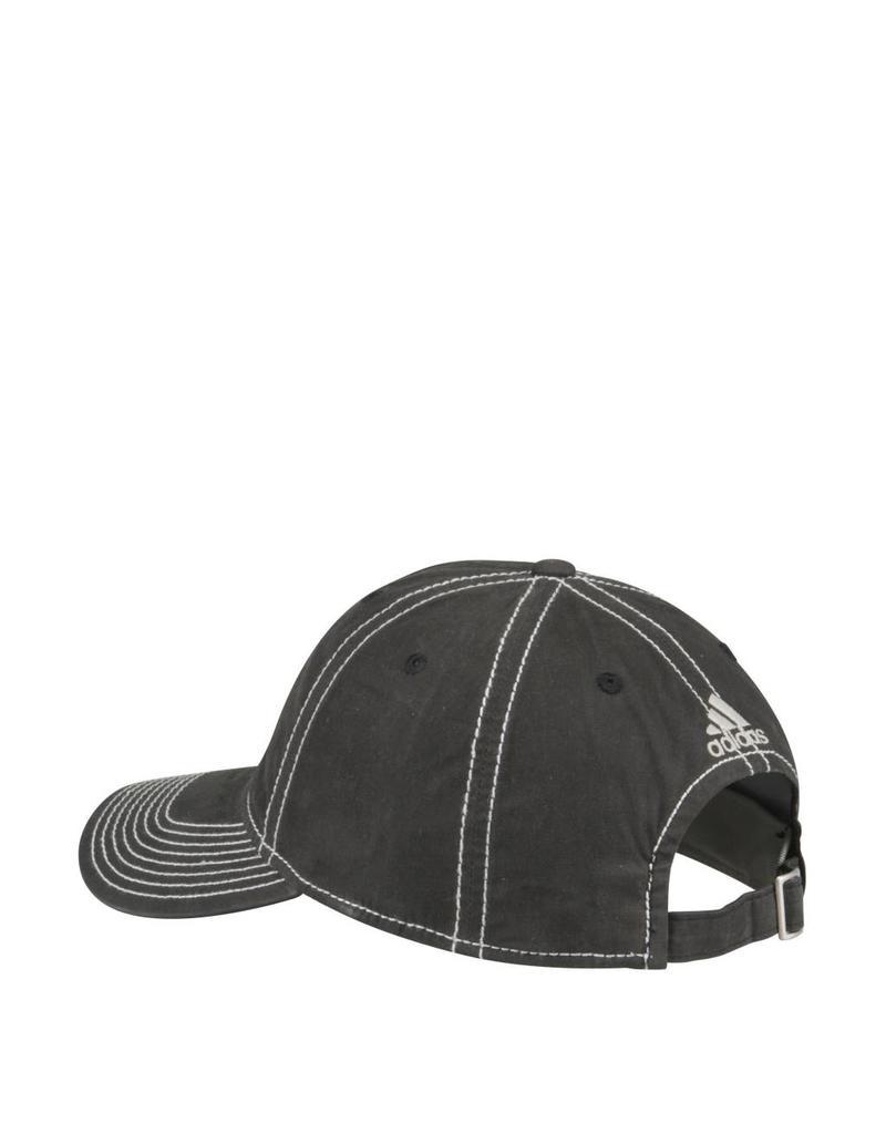 Adidas Sports Licensed HAT, ADJUSTABLE, ADIDAS, WAXED CANVAS, BLACK, UL