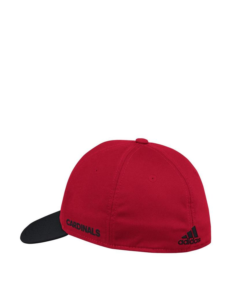Adidas Sports Licensed HAT, FLEX FIT, ADIDAS, COACHES, RED/BLACK,  UL
