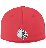 Top of the World HAT, 1 FIT, PITTED, RED, UL