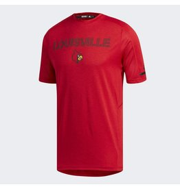 Adidas Sports Licensed TEE, SS, ADIDAS, GAME BUILT, RED, UL