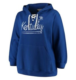 J. America HOODY, LADIES, SEA SIDE, LACE UP, ROYAL, UK