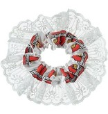GARTER, RED/WHITE, UL