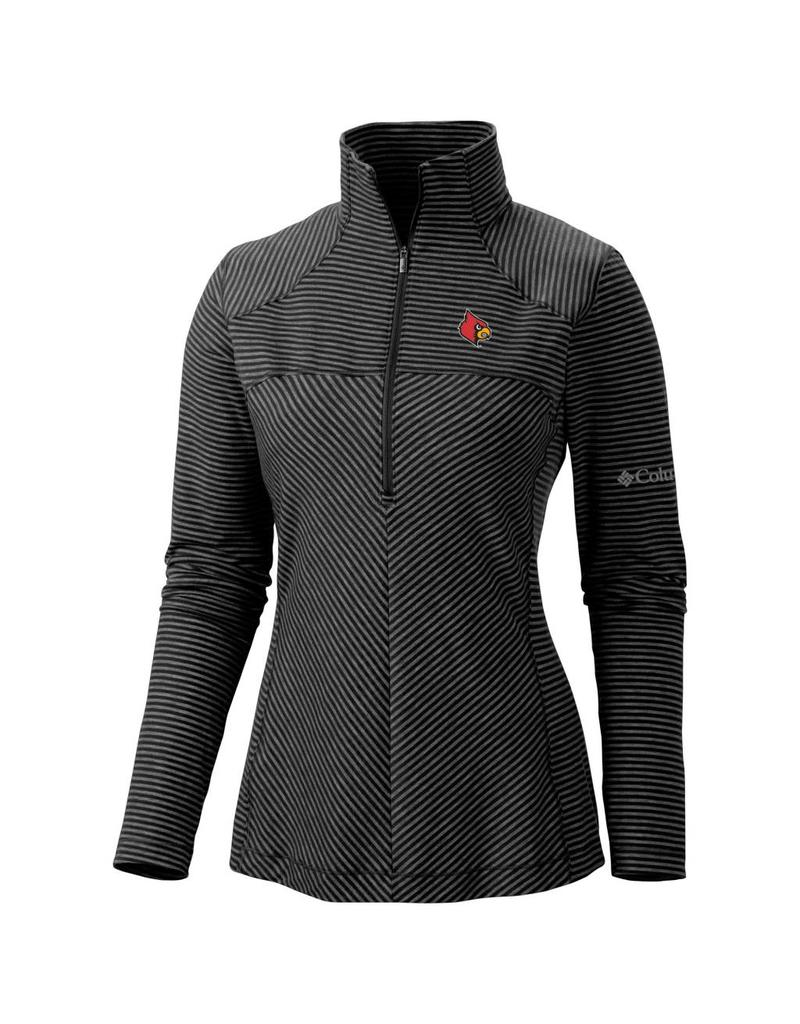 PULLOVER, LADIES, 1/2 ZIP, LAYER FIRST, BLACK, UL
