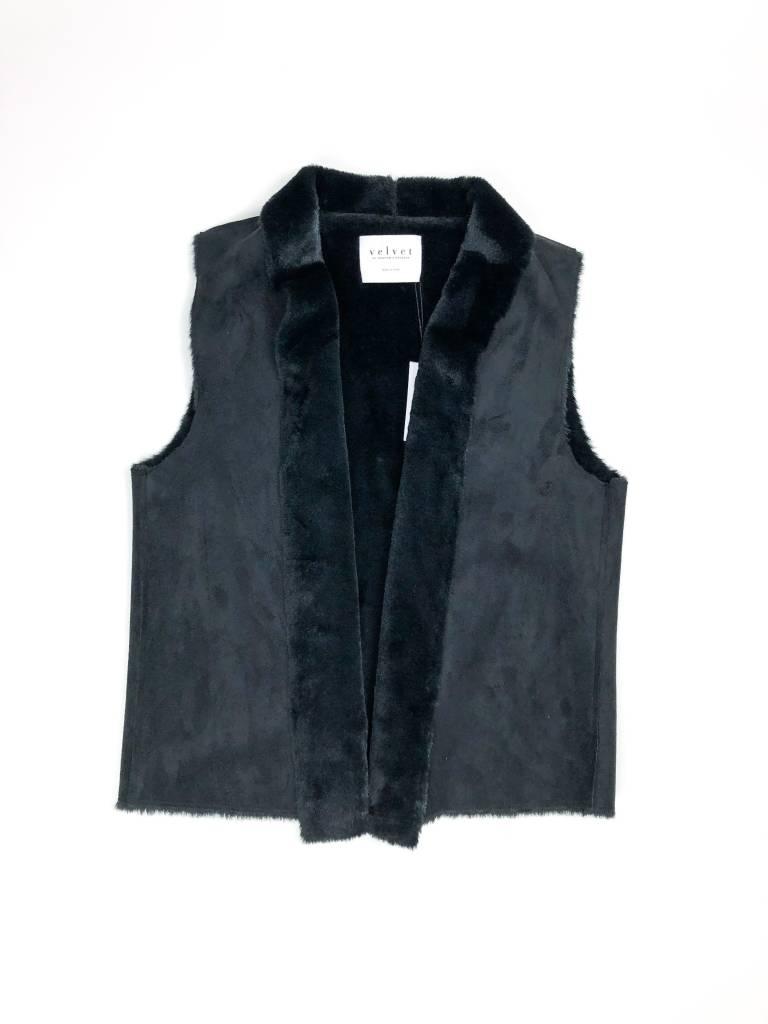 Velvet by Graham & Spencer Yvette Reversible Vest
