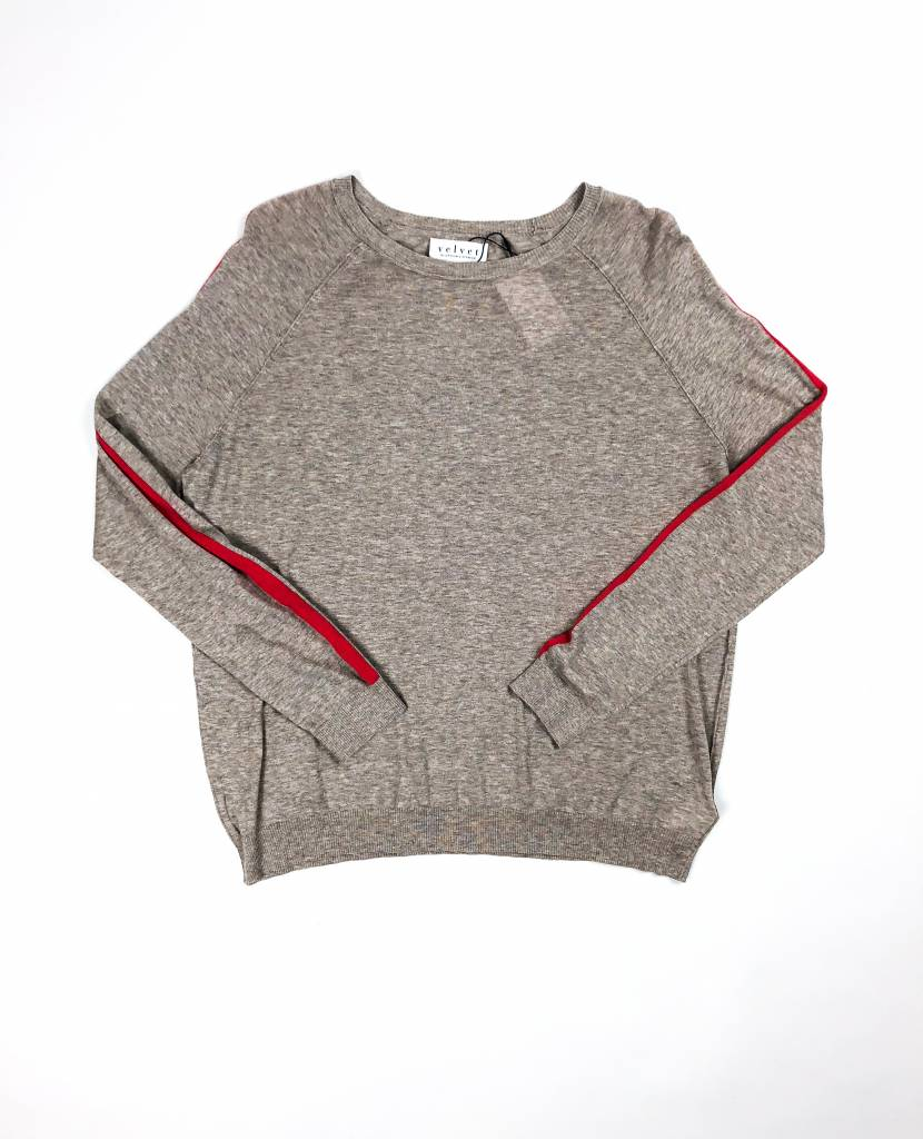 Velvet by Graham & Spencer Torie Sweater w Stripe