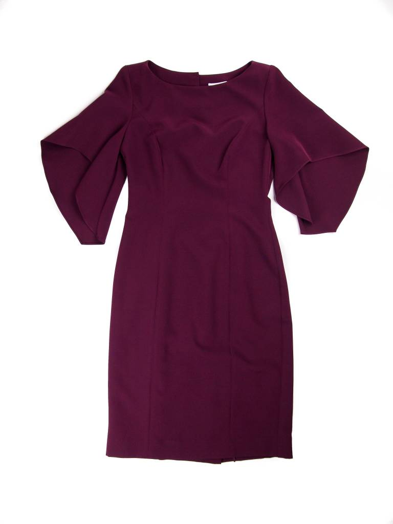 MILLY Mila Ruffle Sleeve Dress