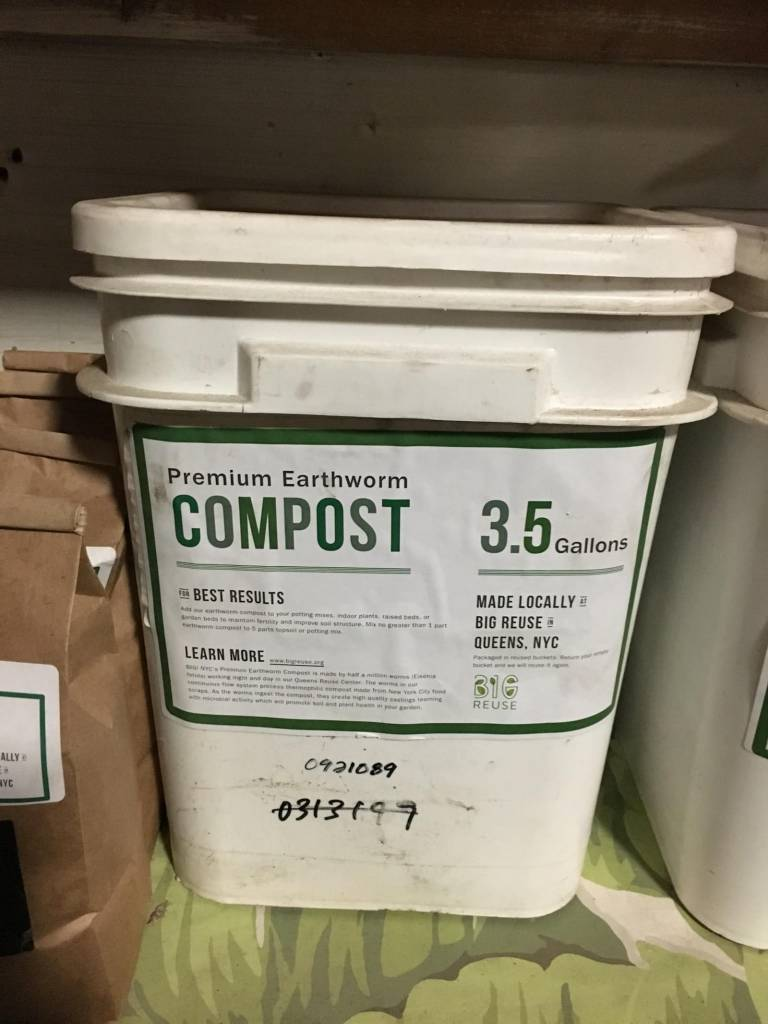 All Reuse Centers *Compost - 3,5 Gallons