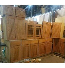 Queens Maple Beaded Board 15-Piece Cabinet Set #GRE