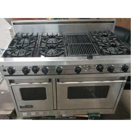 Queens Viking 6-Burner Range With Grated Grill #GRE