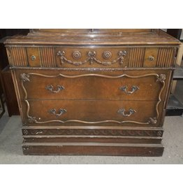 Queens Vintage Georgian Dresser #YEL