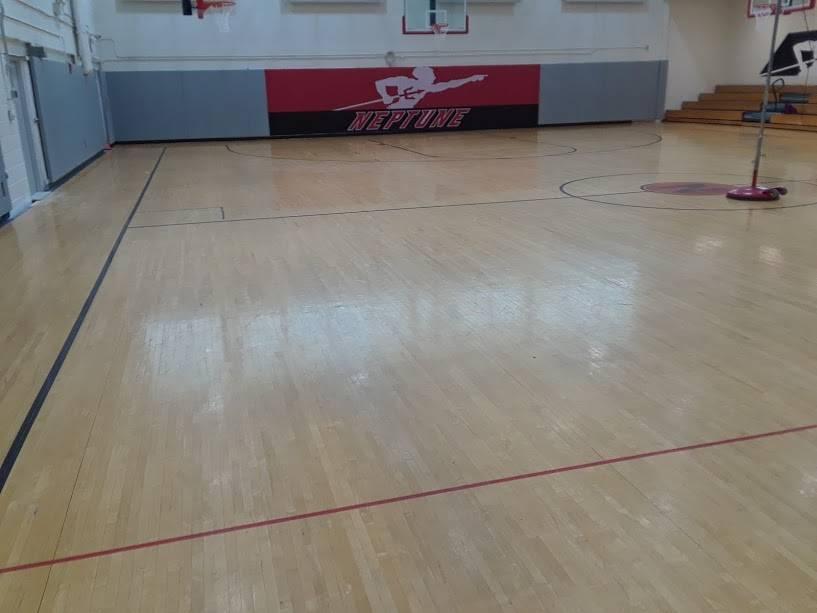 Queens Maple Gym Flooring Panels
