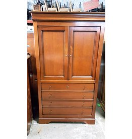 Queens Oak Armoire #GRE