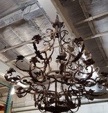 Brooklyn 18th Century Wrought Iron Candelabra