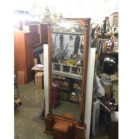Brooklyn Oak Pier Mirror #YEL