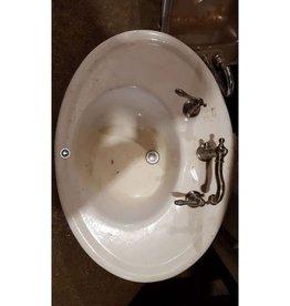Brooklyn Oval Cast Iron Sink #PIN
