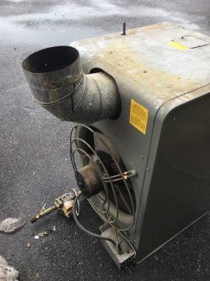Brooklyn Modine Heater #YEL