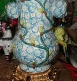 Mangani Porcelain Jar #BLU