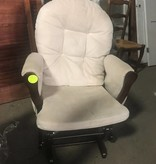 Queens Cushioned Rocking Chair #YEL
