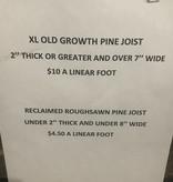 Brooklyn Reclaimed Pine Joist #WHI