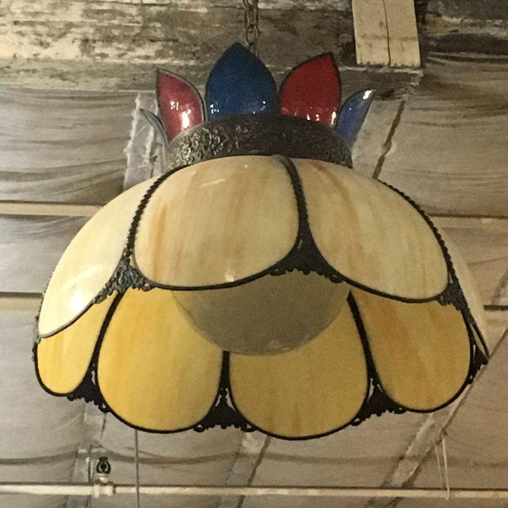 Brooklyn Stained Glass Chandelier #YEL