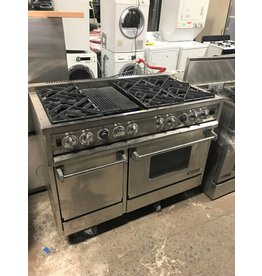 Queens Dynasty 6 Burner Gas Range #YEL
