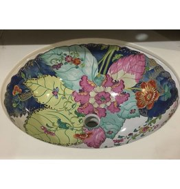 Brooklyn Kallista Custom Floral Sink #YEL