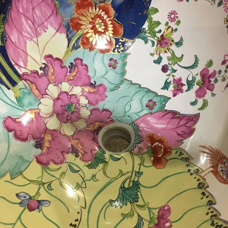 Brooklyn Kallista Custom Floral Sink #YEL