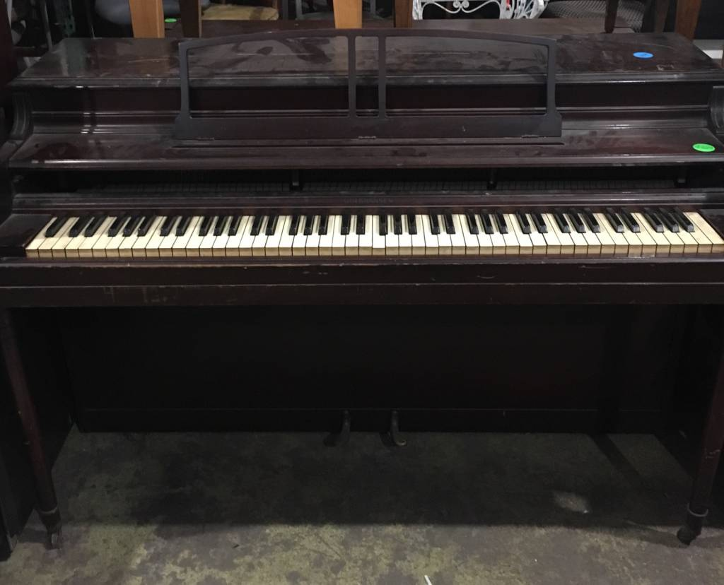 Brooklyn Gulbransen Spinet Piano #YEL