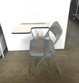 Brooklyn Metal Folding Chair with Extension #YEL