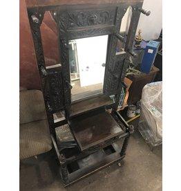 Queens Antique Mirrored Coat Rack #BLU