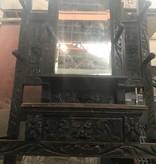 Queens Antique Mirrored Altar #BLU