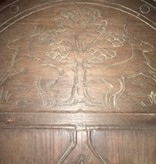 Brooklyn Hand Carved Entrance Door w/ Frame #WHI