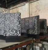 Brooklyn Zebra Print Banquet #BLU