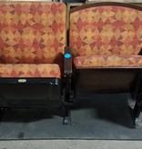 Queens Upholstered Wooden Theater Seats #blu