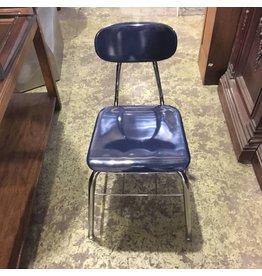Brooklyn Navy Old Fashion School Chair #BLU