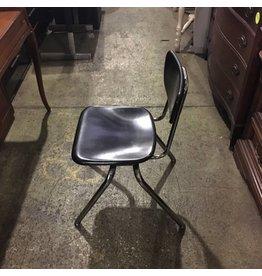Brooklyn Black Old Fashion School Chair #BLU