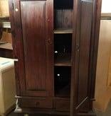 Queens Vintage Oak Storage Unit#blu