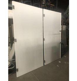 Queens Oversized White Doors #BLU