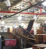 Brooklyn Reclaimed Swinging Barrel Chair #ORA